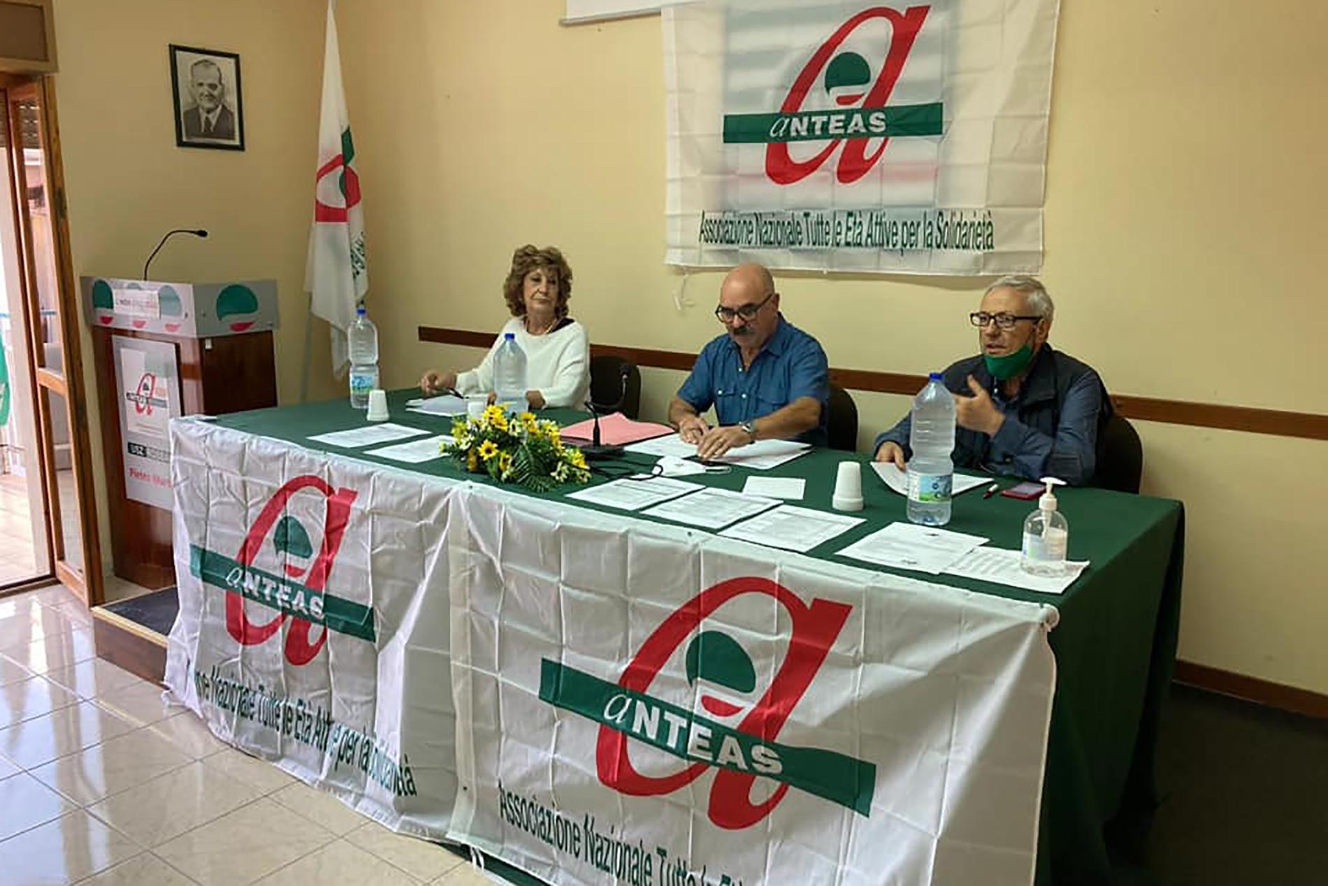 Assemblea ANTEAS Rossano - In occasione della chiusura dell'anno sociale