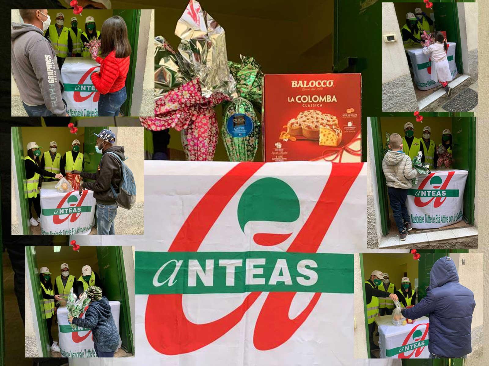 Donazione uova e colomba di Pasqua - ANTEAS Rossano